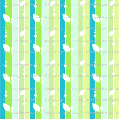 Leafydotty Striped - A Simple Wish  - © PinkSodaPop 4ComputerHeaven.com