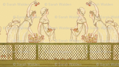 Kate Greenaway Halloooo! ~ Language of the Flowers