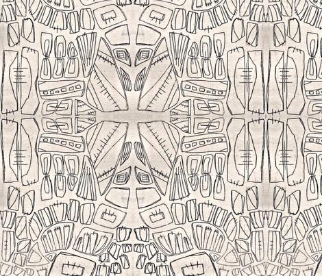 Cityscape fabric by jar_ on Spoonflower - custom fabric