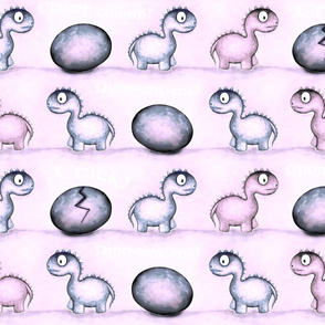 DINO - Pretty pink & mauve
