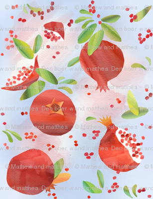 Summer Pomegranates
