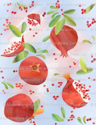Summer Pomegranates