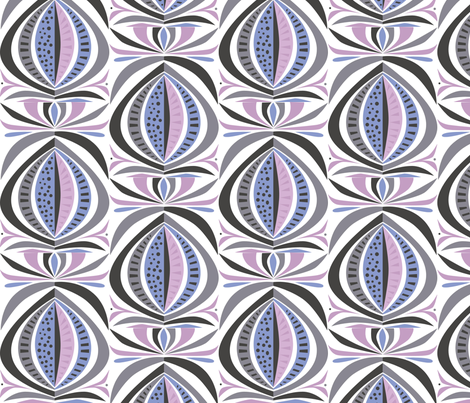 moon_mirror fabric by antoniamanda on Spoonflower - custom fabric