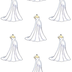 PREGNANT and BALLGOWNS