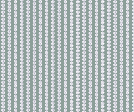 Pearl Chains is soft sage pastel fabric by fridabarlow on Spoonflower - custom fabric