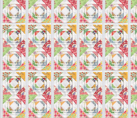 JUST SEW AND HAVE A BABY QUILT PRETTY fabric by viciousbeauty on Spoonflower - custom fabric
