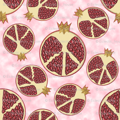 Peace, Love and Pomegranates