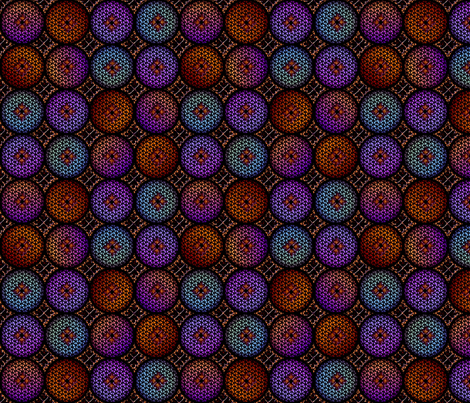 Medieval Glass 2 fabric by glimmericks on Spoonflower - custom fabric