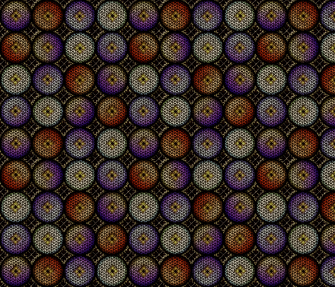 Medieval Glass 3 fabric by glimmericks on Spoonflower - custom fabric