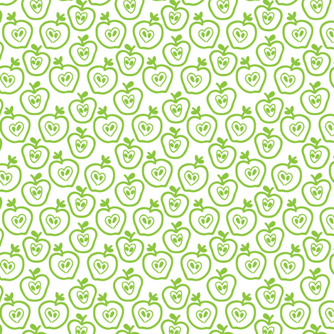 Apples fabric by ebygomm on Spoonflower - custom fabric