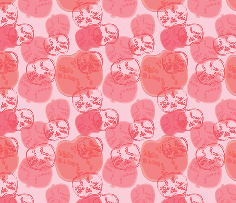 pomigranate fabric by babyfish on Spoonflower - custom fabric