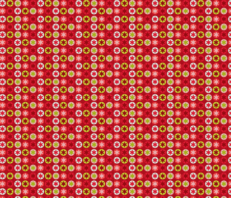 Pomegranate spot fabric by cjldesigns on Spoonflower - custom fabric