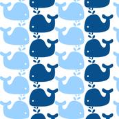 Whale Silhouette Print