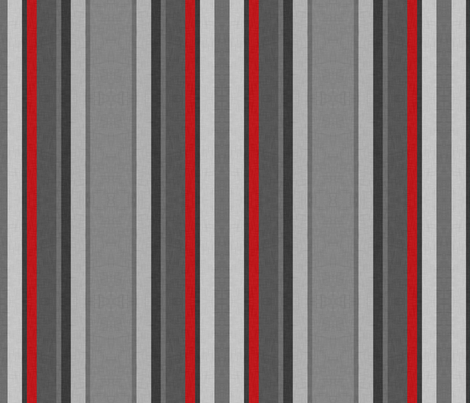 Gray Stripes fabric by thecalvarium on Spoonflower - custom fabric