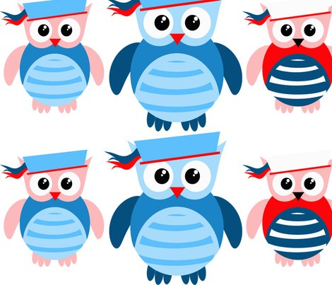 Rrspoonflower_nautical_owls_shop_preview