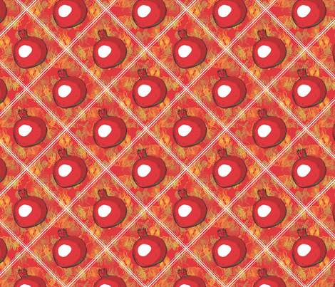 pomegranate fabric by renelope on Spoonflower - custom fabric