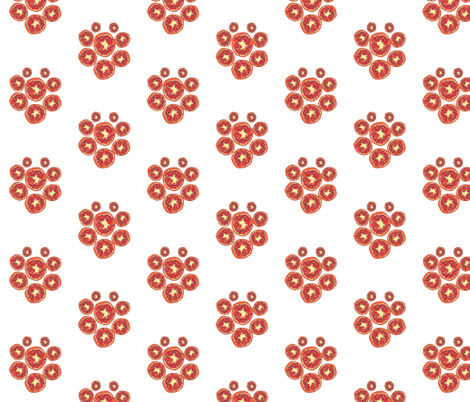 pomegranate fabric by duardo on Spoonflower - custom fabric
