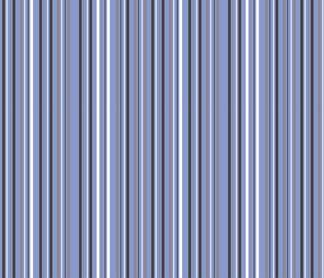 moonlight_stripe_blue fabric by antoniamanda on Spoonflower - custom fabric