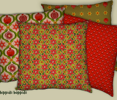 Pomegranate cushion collection 2