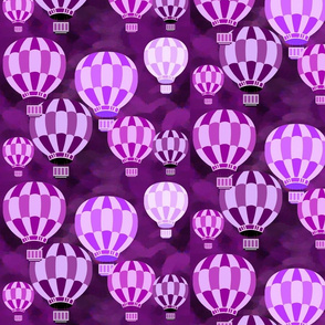 PURPLE PASSION BALLOONS
