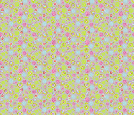 pomegranates2 fabric by antonela_del_vecchio on Spoonflower - custom fabric