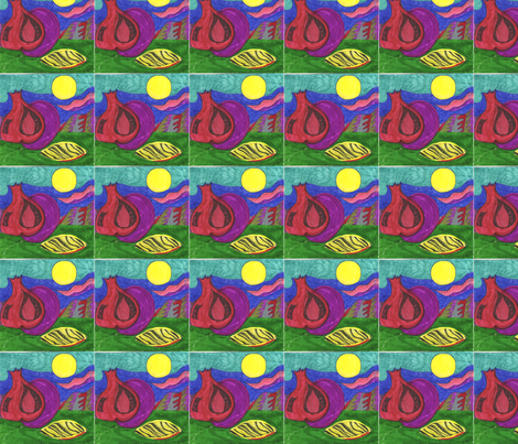 Seed_apple_fruit fabric by purple_robin on Spoonflower - custom fabric