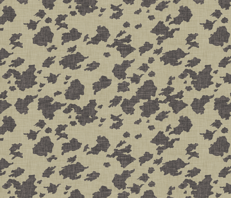burlap_cowhide fabric by holli_zollinger on Spoonflower - custom fabric