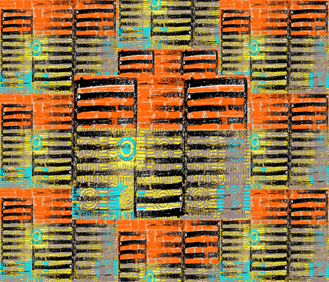 UrbanSightings2 fabric by catail_designs on Spoonflower - custom fabric