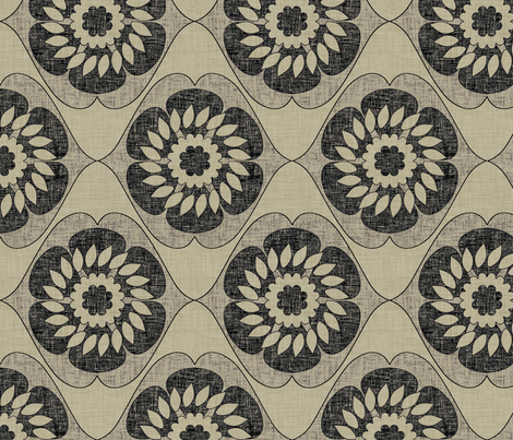 burlap_gloriosa fabric by holli_zollinger on Spoonflower - custom fabric