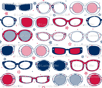 Stars, Stripes & Sunglasses - © Lucinda Wei