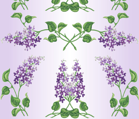 LILAC LIGHTS fabric by bluevelvet on Spoonflower - custom fabric