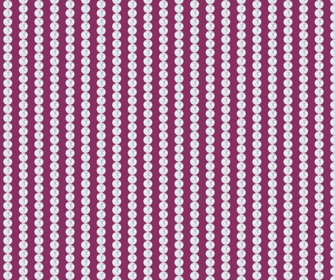 pearlchains_purple fabric by fridabarlow on Spoonflower - custom fabric