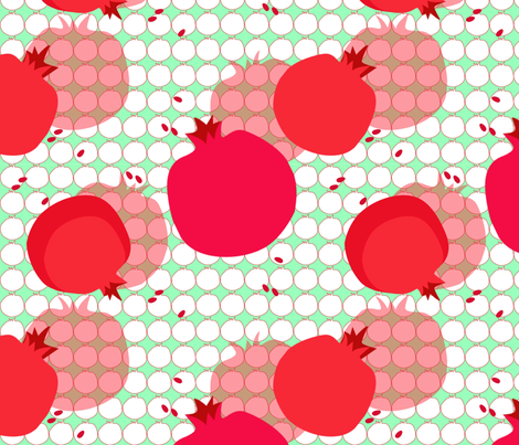 pom_pom_fresh fabric by gigimoll on Spoonflower - custom fabric