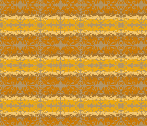 Orangeswirlywhirlys fabric by garwooddesigns on Spoonflower - custom fabric