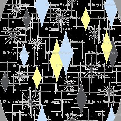 Burmond #Cb (Blue/Yellow)