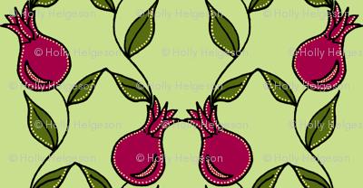 pomegranate flower pink