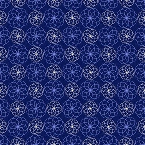 Blue Geo Garden 2