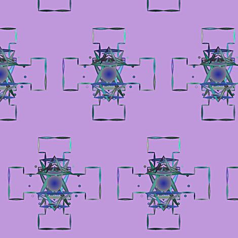 Mandala_On_Purple fabric by patsijean on Spoonflower - custom fabric