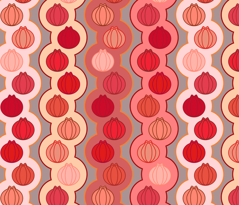 Pom_Pom_Pomegranates fabric by mrshervi on Spoonflower - custom fabric