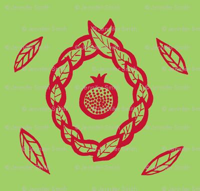 Pomegranate pistachio