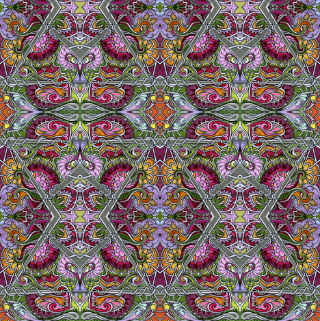 Return to the Victorian Parlor fabric by edsel2084 on Spoonflower - custom fabric