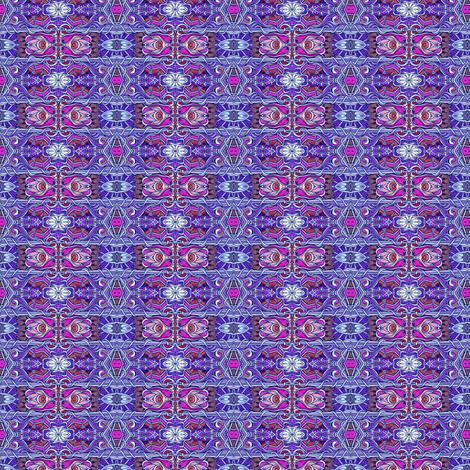 Ye Olde English Horizontal Plum/Purple Stripe fabric by edsel2084 on Spoonflower - custom fabric
