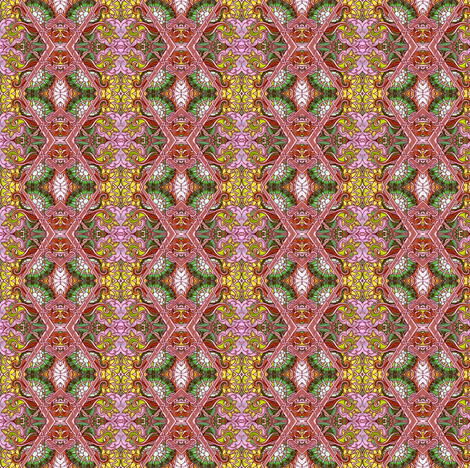 Oh Grandmother, What Big Eyes You Have fabric by edsel2084 on Spoonflower - custom fabric