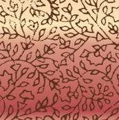 Block print (rose)