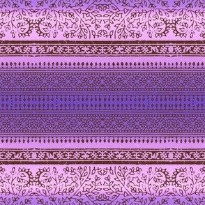 Block print (purple)