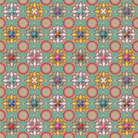 beauteous fabric by glimmericks on Spoonflower - custom fabric