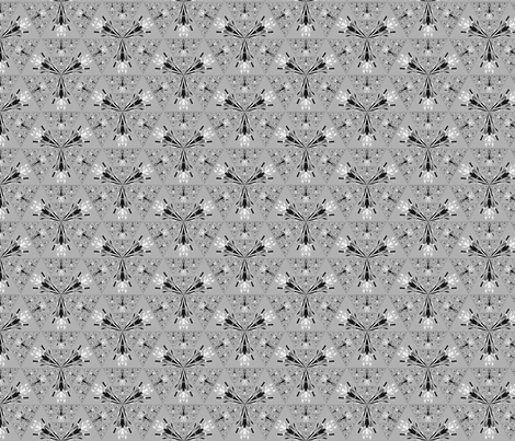 Pretty Light Grey Geometric © Gingezel™ 2012 fabric by gingezel on Spoonflower - custom fabric