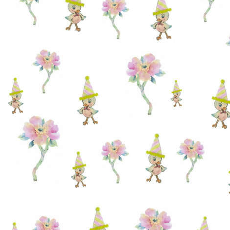 Just Duckey fabric by laurabotsford on Spoonflower - custom fabric