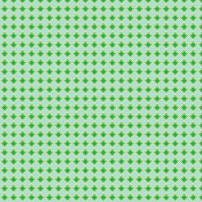 Small double Fleur de Lis greens