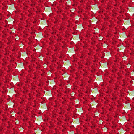 red star 4 fabric by leopardessmoon on Spoonflower - custom fabric